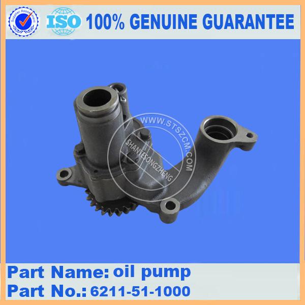 SA6D140E-2 oil pump 6211-51-1000
