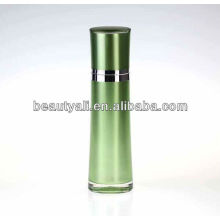 Round Waist Cosmetic Acrylic Lotion Bottle 60ml 80ml 100ml 120ml