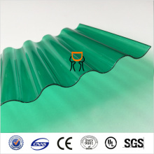 uv prévenir les panneaux de toiture en polycarbonate