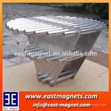 Barra magnética do filtro para o pó do ferro aspiração / filtro forte do ímã do neodímio para a água e o filtro limpo dos materiais do pó