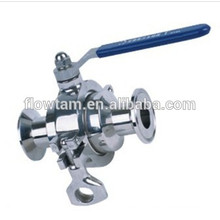 Good Used Sanitary Stainless Steel Clamp Ball Valve