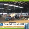 Mercado de vegetales de estructura ligera de acero