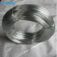 High strength hot dip galvanized wire for construction