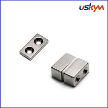 High Quality Neodymium Magnet with Two Countersunks