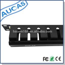 Organisateur de câble en métal horizontal / Gestion des câbles Cabinet de 19 po