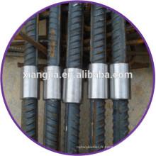 2014 vente chaude construction fil parallèle raccords en acier