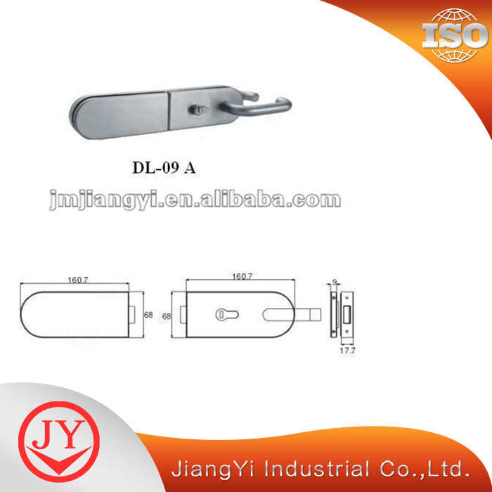 Lever Glass Door Lock