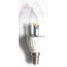 Remplacer l'ampoule économiseuse d'énergie de bougie d'halogène (KING-CL-MCOB-4B)