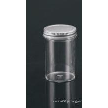 Recipientes de 100 ml com tampão de revestimento inerte de vedação de metal