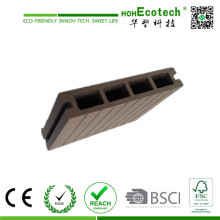 New Arrival Hollow WPC Decking for Terrace, Patio and Pathway