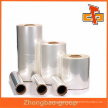 Professional manufacturer soft heat shrinking film package pvc film roll