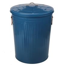 Boîte métallique en acier galvanisé 75L pour poubelle de jardin