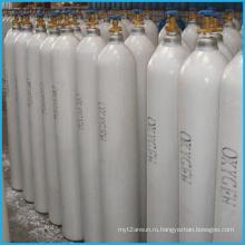 40л высокого давления бесшовных стальных кислородный газгольдер (ISO9809-3)