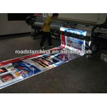 Cobertura reflexiva de grau de publicidade para impressão