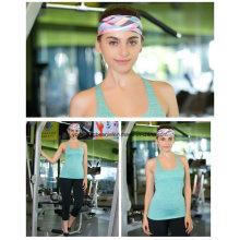 Оптовые широкие полиэфирные спандекс печати йоги спорта заставки