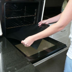 PTFE Oven Liners Reusable And Washable. Ultra Non Stick. Keep Your Ovens Floors Clean