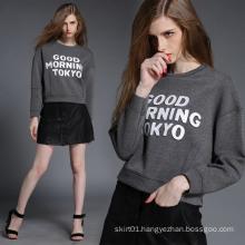 OEM Fashion Printed Good Quality Europe Style Lady Hoody