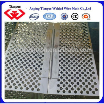 SS 302 304 316L 430 punched/perforated metal sheet