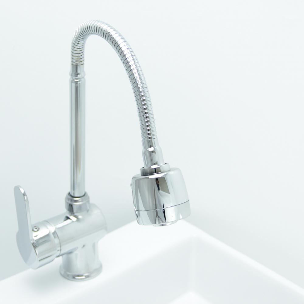 Kitchen Chrome Water Tap