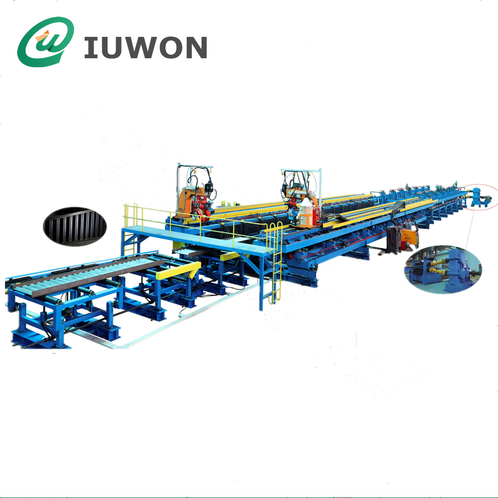 Corrugated H Beam Machine