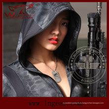 Al aire libre Kryptek Camo mujeres sudadera con capucha Hoodie táctico