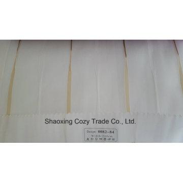 New Populäres Projekt Streifen Organza Voile Sheer Vorhang Stoff 008284