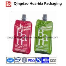Wiederverwendbarer Plastiknahrungsmitteltüllen-Beutel für Saft und Gelee