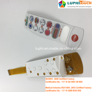 Tembaga Flex FPC Logam Dome Tactile Membran Switch