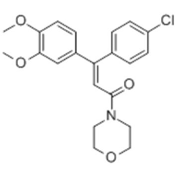 2-Propen-1-one,3-(4-chlorophenyl)-3-(3,4-dimethoxyphenyl)-1-(4-morpholinyl)- CAS 110488-70-5