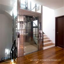 Casa de campo vertical que levanta o elevador residencial pequeno da casa do passageiro da construção