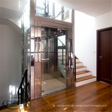 Vertikale Haus-Villa, die Wohnkleingebäude-Passagier-Hauptaufzug anhebt