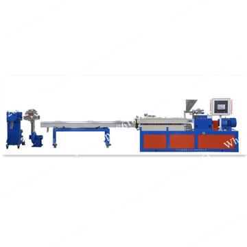 Lab twin screw extruder plastic granulating machine