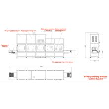 Lavadora y secadora de batería