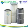 FORST Fabricación Filtro plisado Filtro de aire para limpieza de polvo Filtro de aire de la industria del cemento