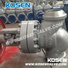 Válvulas de globo termostáticas soldadas a tope de alta presión (J61)