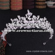 Wholesale Crystal Tiaras With Handmade Beads