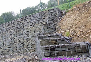 Welded Gabion Box Anti Corrosion