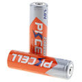 2018 PKCELL 1.6v 2500mwh wiederaufladbare Batterie ni-zn High-Drain-Batterie