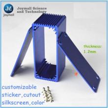 Custom-Druckguss für Aluminium-Profil-Box verwendet