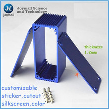 Fundición a presión personalizada utilizada para la caja de perfil de aluminio