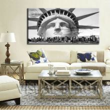 "Large Painting Status of Liberty stretcher frame canvas prints 24""x48"""