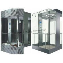 Capacité 1000kg Machine Ascenseur passager sans chambre sans ascenseur avec certificat ISO