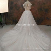 RSW1090 Lace Binder Wedding Dresses Neckless Dresses