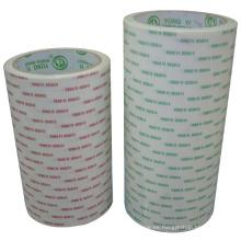 Cinta de doble cara de tejido con adhesivo solvente