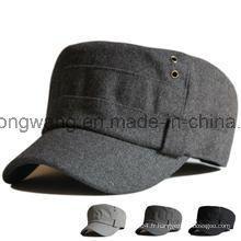 Capuchon d'armée de baseball de haute qualité personnalisé, chapeau de sport