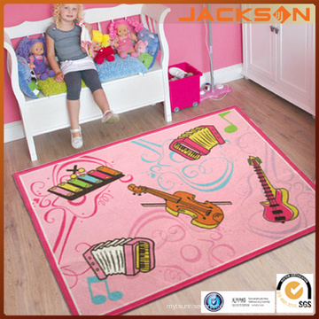 Kids Musical Instruments Pattern Carpet