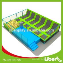 Prix d'usine grand parc trampoline extérieur et intérieur à vendre, trampoline pour parc d'attractions LE.T2.504.091.02