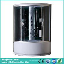 Luxus-Dampf-Duschkabine mit hoher Schale