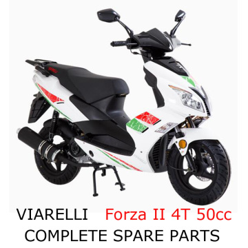 Viarelli Forza 4T 50cc Scooter Part Complete Parts