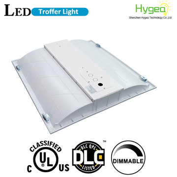 recessed 2x2 36w led troffer light fixture